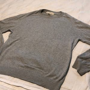 H&M Sweaters - H&M men crew neck grey fall winter essential basic